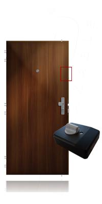 cda850c0e6 Premontáž pôvodného prídavného zámku na ADLO dvere - ADLO