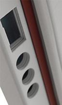 0fa9f7e278 Bezpečnostná zárubňa  nová   pôvodná. Nová zárubňa ADLO predstavuje  najvyššiu bezpečnosť.